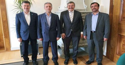 دیدار هیأت دانشگاه تهران از دانشگاه زوریخ سوئیس